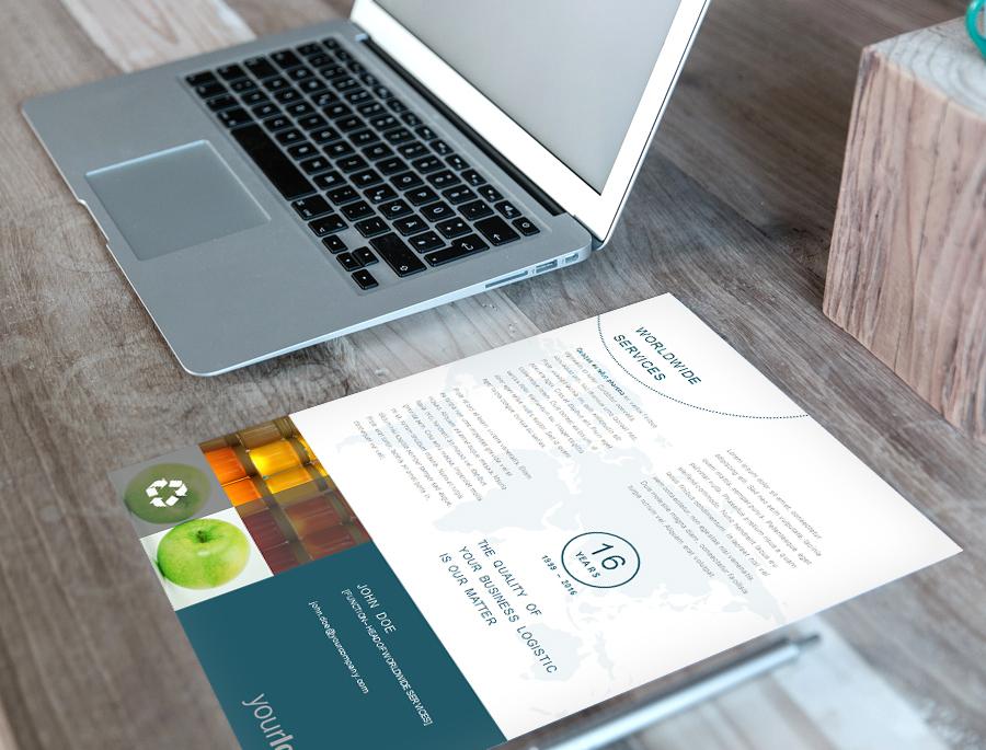 a4 business flyer wholesale