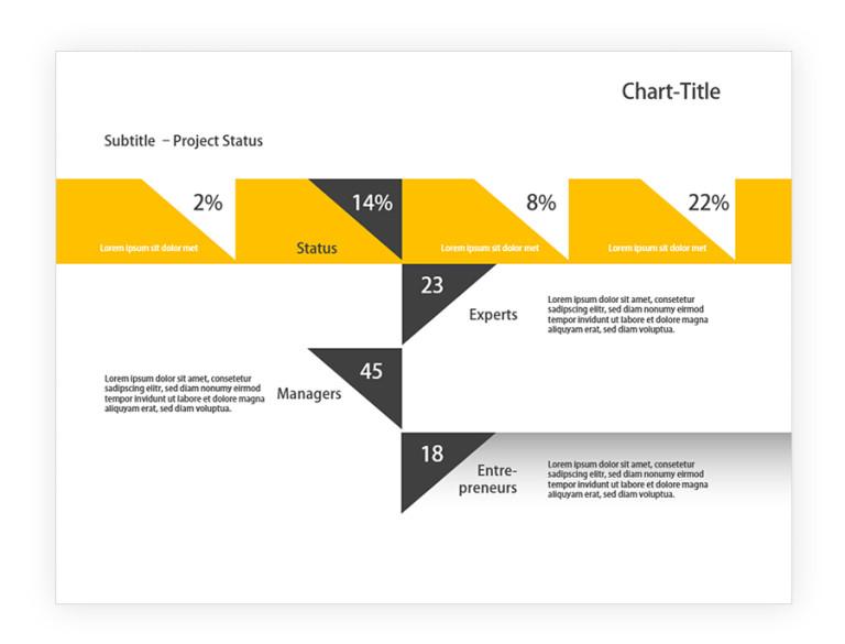 powerpoint grafik flowchart