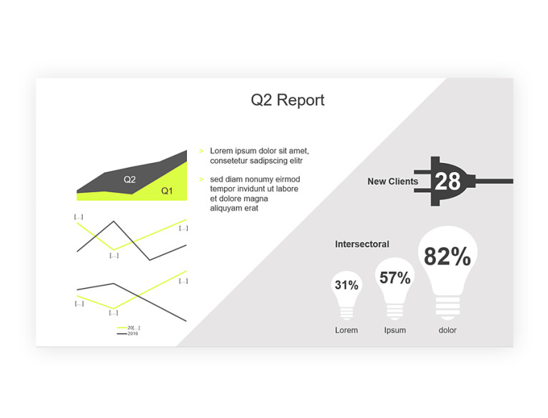 powerpoint master quaterly report