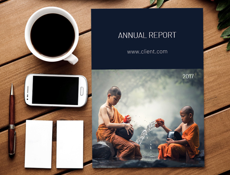 word template annual report